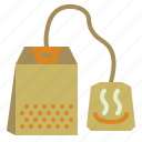 bag, drink, herbal, tea icon