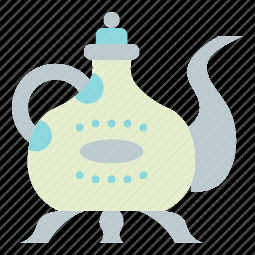 drink, tea, teapot, vessel icon