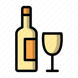 alcohol, beer, bootle, drink, glass, vodka, wine icon