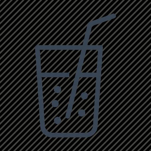 drink, soda, sparkling, water icon