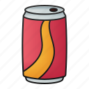 sodacola, can, drink, softdrink, beverage