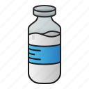milk, bottle, drink, beverage