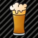 beer, glass, pub, alcohol, drink, beverage