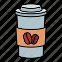 coffee, cup, drink, beverage