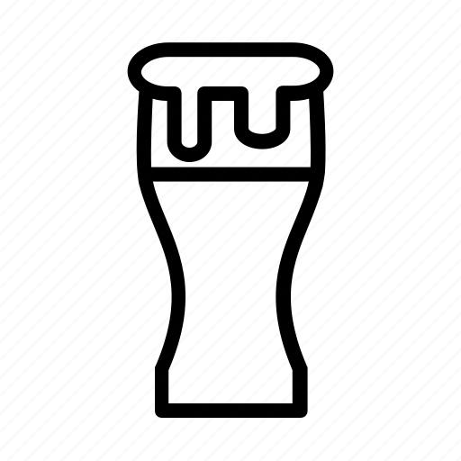 alcohol, beverage, drinks, glass icon