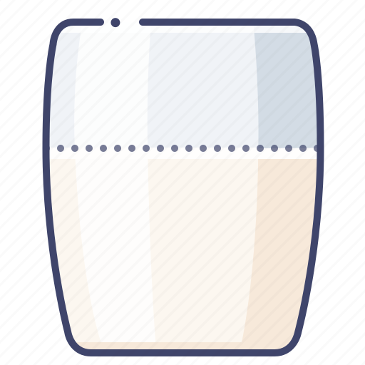 Cup, drink, glass, milk icon - Download on Iconfinder