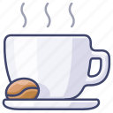 cafe, coffee, espresso, mug icon