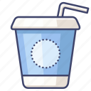 cola, drink, takeaway, takeout icon