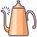 kettle, coffee, drip, pot