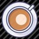 cappucciano, latte, cup, coffee