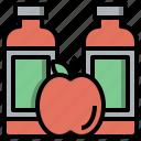 apple, bottle, diet, helthy, juice icon