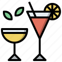 alcohol, alcoholic, cocktail, drink, drinking, drinks, leisure icon
