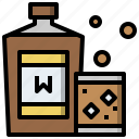 alcohol, alcoholic, bar, drink, pub, whiskey, whisky icon