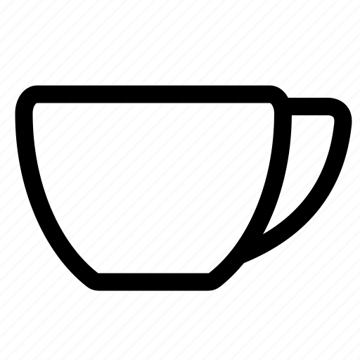 coffee, cup, drinks, glass, milk, tea icon
