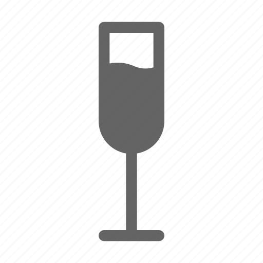 champagne, drink, wine icon