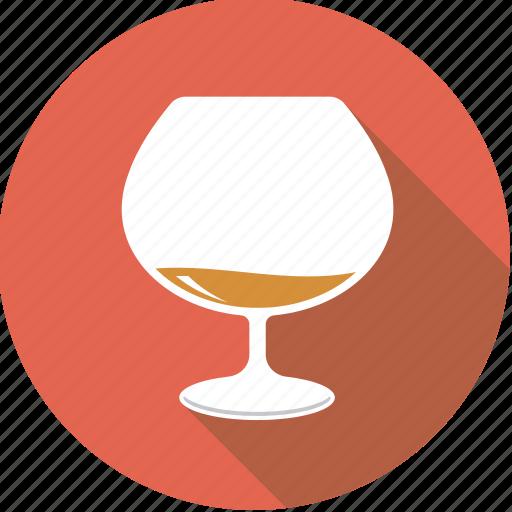 alcohol, beverage, brandy, cognac, drink, glass icon