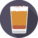beverage, coffee, drink, froth, hot, latte macchiato, milk icon