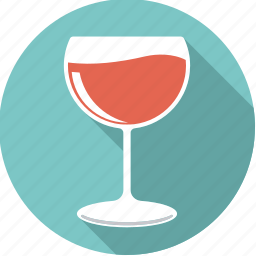alcohol, beverage, drink, glass, red, wine icon