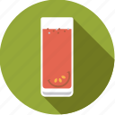 beverage, drink, glass, juice, seasoning, tomato, vegetable icon