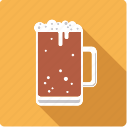alcohol, beer, beverage, dark, drink, glass, stout icon