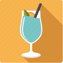 alcohol, beverage, blue, cocktail, drink, glass, swimming pool icon