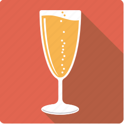 alcohol, beverage, champagne, drink, glass, sparkling, wine icon