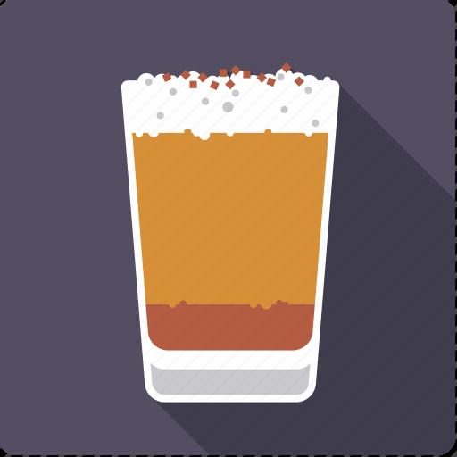 beverage, coffee, drink, froth, hot, latte macchiato, milk icon