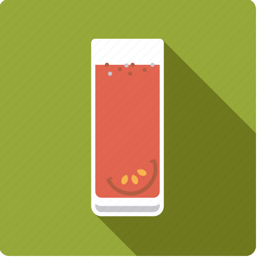 beverage, drink, glass, juice, seasoning, tomato, vegetable icon