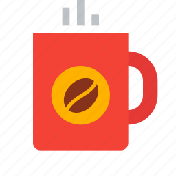 beverage, coffee, coffeebean, cup, drink, hot, mug icon
