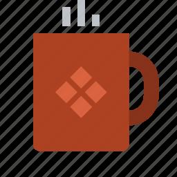 chocolate, cocoa, coffee, cup, drink, hot, mug icon