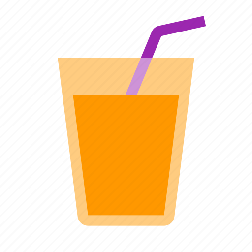 beverage, citrus, drink, fruit, glass, juice, orange icon