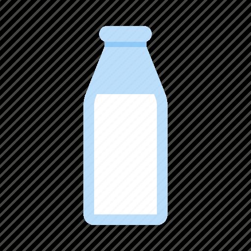 bottle, breakfast, dairy, drink, lactic, milk icon