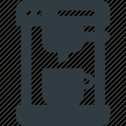 Coffee, drink, drinks, espresso, maker icon - Download on Iconfinder