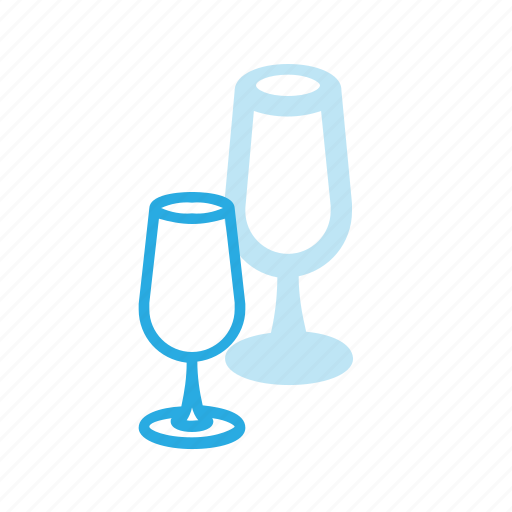 celebrate, champagne, drink, drinks, glass icon