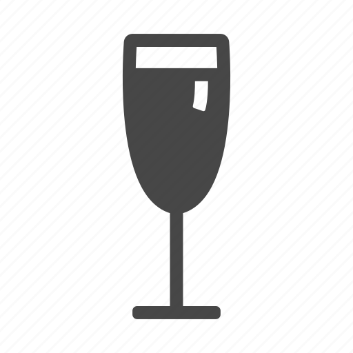 drinks, glass, water, wine icon