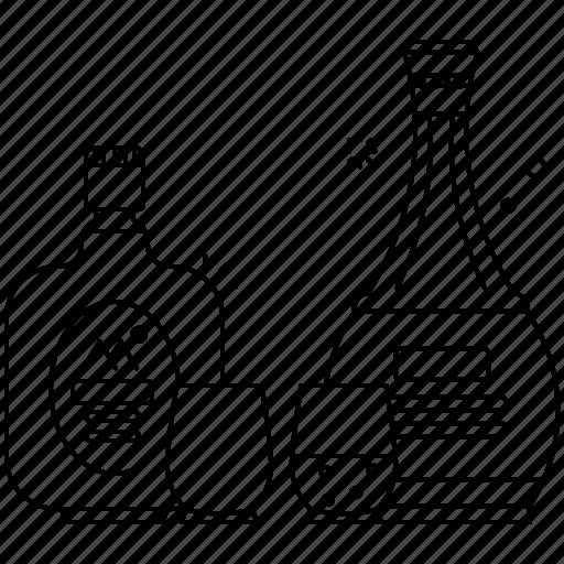 alcohol, beer, beverages, bottle, drink, vodka, wine icon