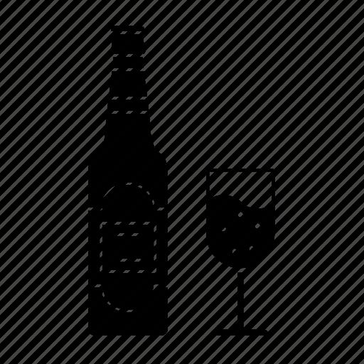 alcohol, beer, beverages, bottle, drink, kingfisher icon