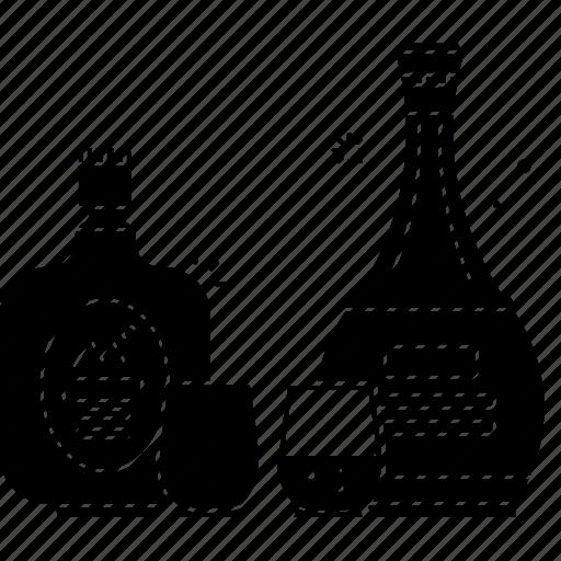 alcohol, beer, beverages, bottle, drink, red wine, vodka icon