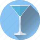 alcohol, beverage, blue, coctail, lady icon