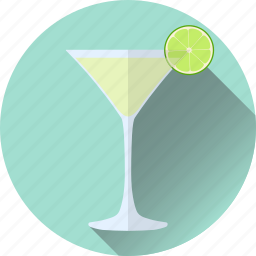 alcohol, beverage, cocktail, daiquiri, lime icon