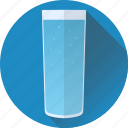 blue, drink, glass, soda icon