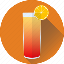 alcogol, beverage, cocktail, drink, sunrise, tequila icon