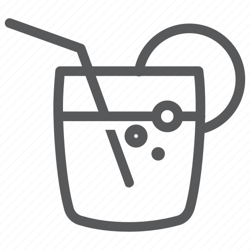 beverage, cocktail, drink, fresh, glass, juice, water icon