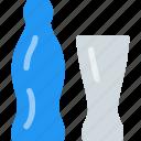 beverage, bottle, caffeine, carbonated, fizz, glass, soft drink icon
