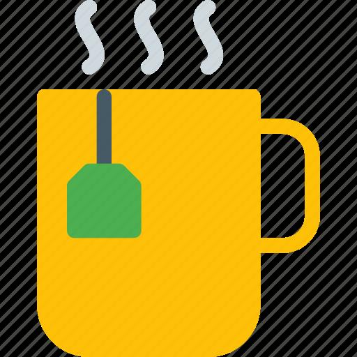 antioxidant, cup, dip, drink, refreshment, stir, tea icon