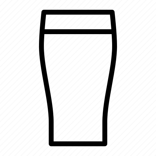 alcohol, ale, beer, beverage, glass, ios, pint icon