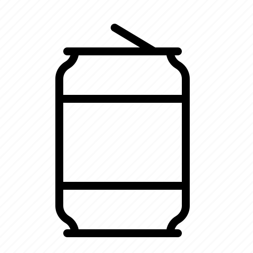 can, drink, ios, pull, recycle, soda, tin icon
