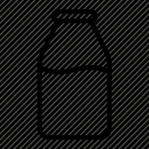 bottle, drink, glass, ios, juice, milk, pint icon