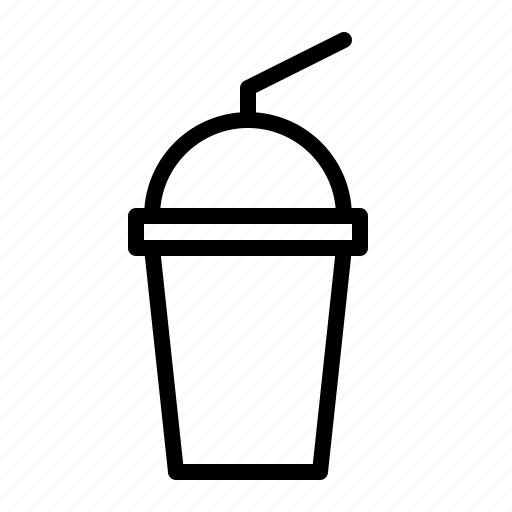 beverage, cold, disposable, ios, milkshake, shake, takeaway icon