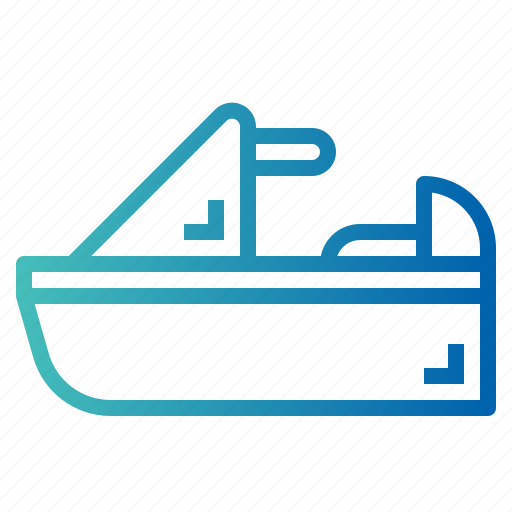 Jet, scooter, sea, ski, transport icon - Download on Iconfinder
